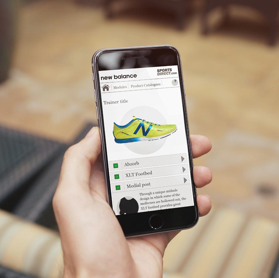 New Balance Mobile