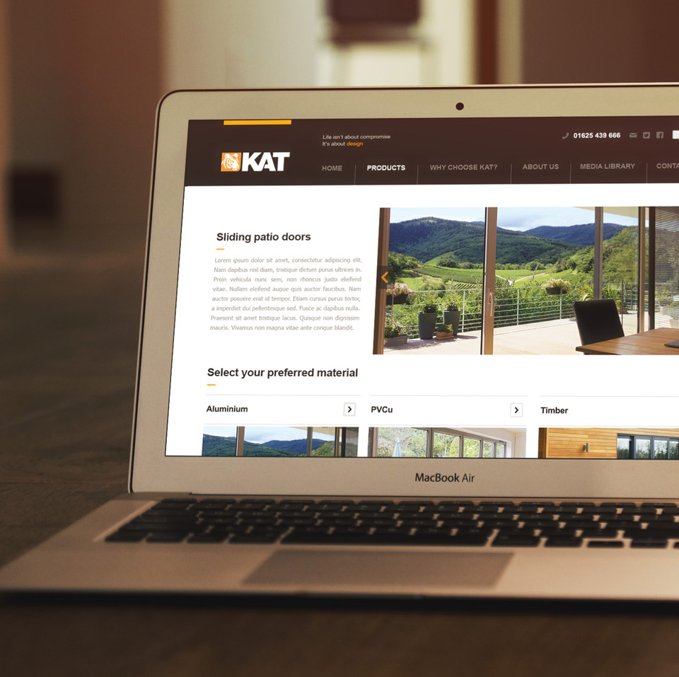 KAT Products page